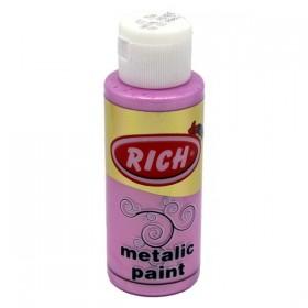 Rich 784 Metalik Hayal Pembe 70 ml Metalik Ahşap Boyası