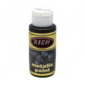 Rich 864 Metalik Antik Kahve 70 ml Metalik Ahşap Boyası