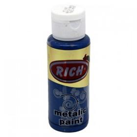 Rich 867 Metalik Antik Mavi 70 ml Metalik Ahşap Boyası