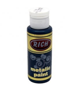Rich 868 Metalik Antik Turkuaz 70 ml Metalik Ahşap Boyası