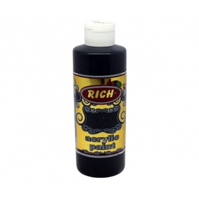 Rich 230 Siyah 260 ml Akrilik Boya