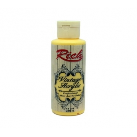 1124-Mimoza Rich Vintage Mat  Akrilik Boya 130cc