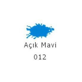 Tex.co 012 Açık Mavi 45ml Kumaş Boyası