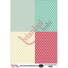 Servo Dekupaj Kağıdı 35x50cm N-039