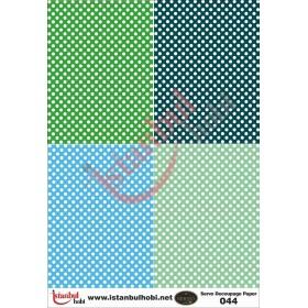 Servo Dekupaj Kağıdı 35x50cm N-044
