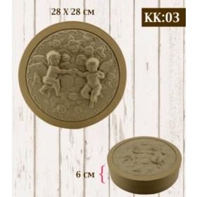 Boyanabilir Kabartmalı Karton Kutu KK-03