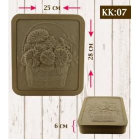 Boyanabilir Kabartmalı Karton Kutu KK-07