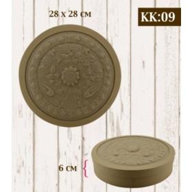 Boyanabilir Kabartmalı Karton Kutu KK-09