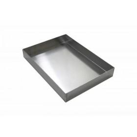 Alüminyum Ebru Teknesi 25,5x35,5x5 cm