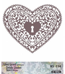 Cadence Siluet Trendy Shadow Stencil KS-114