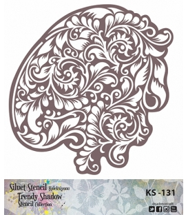 Cadence Siluet Trendy Shadow Stencil KS-131