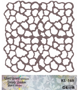 Cadence Siluet Trendy Shadow Stencil KS-169