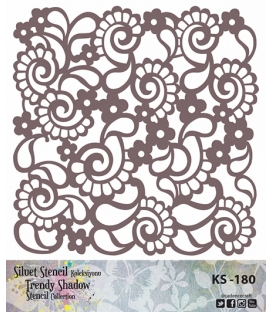 Cadence Siluet Trendy Shadow Stencil KS-180