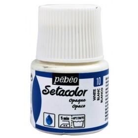 Pebeo Setacolor Opak Kumaş Boyası 10 Titanium White