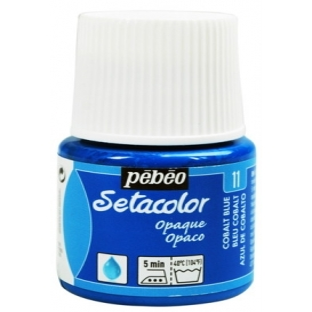 Pebeo Setacolor Opak Kumaş Boyası 11 Cobalt Blue