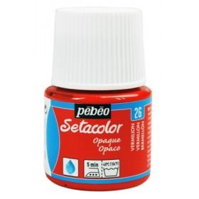 Pebeo Setacolor Opak Kumaş Boyası 26 Vermillon