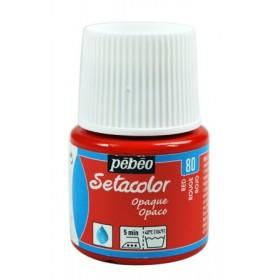 Pebeo Setacolor 80 Red Opak Kumaş Boyası