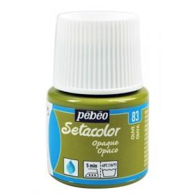 Pebeo Setacolor 83 Olive (Zeytin) Opak Kumaş Boyası