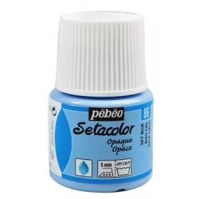 Pebeo Setacolor 86 Sky Blue (Gökyüzü) Opak Kumaş Boyası