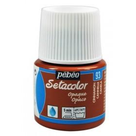 Pebeo Setacolor 93 Cinnamon (Tarçın) Opak Kumaş Boyası