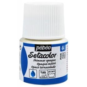 Pebeo Setacolor Opak Kumaş Boyası Metalik 44 Shimmer Pearl
