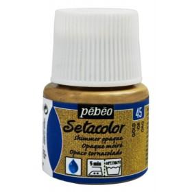 Pebeo Setacolor Opak Kumaş Boyası Metalik 45 Shimmer Gold