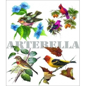 Artebella 1155 Küçük Kolay Transfer Koyu Zemin 17x24 cm