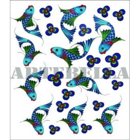 Artebella 1254 Küçük Kolay Transfer Koyu Zemin 17x24 cm