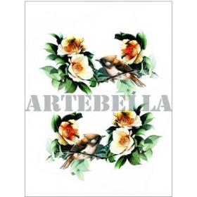 Artebella 1283 Küçük Kolay Transfer Koyu Zemin 17x24 cm