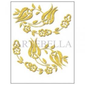 Artebella 2711 Küçük Kolay Transfer Koyu Zemin 17x24 cm