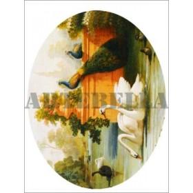 Artebella 1342 Klasik Transfer Koyu Zemin 23x34 cm