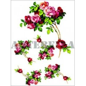 Artebella 1347 Klasik Transfer Koyu Zemin 23x34 cm