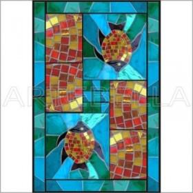 Artebella 1568 Mozaik Transfer Koyu Zemin 23x34 cm