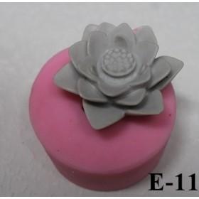 Silikon Kalıp Nilüfer Çiçek E-29