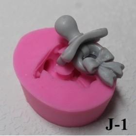 Silikon Kalıp Emzik Küçük  J-1