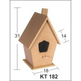 Kuş Evi Büyük 31x18x14 cm