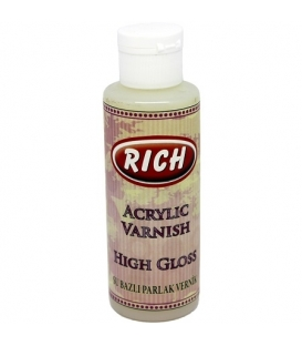 Rich SU BAZLI High Gloss Parlak Vernik 130 ml