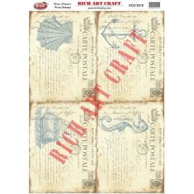 Rich Pirinç Dekopaj Kağıdı 8078