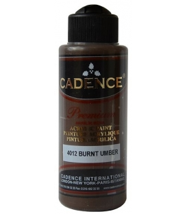 4012 Burnt Umber Cadence Akrilik Boya 120 ml