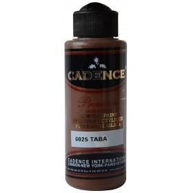6025 Taba Cadence Akrilik Boya 120 ml