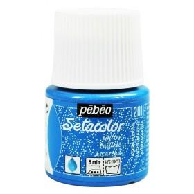 Pebeo Setacolor Glitter Aquamarine 201 Kumaş Boyası