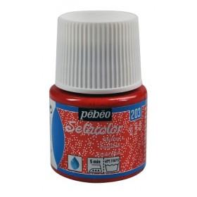 Pebeo Setacolor Glitter Ruby 203
