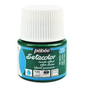 Pebeo Setacolor Suede Effect Fir Green 313 Kumaş Boyası