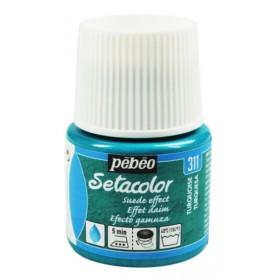 Pebeo Setacolor Suede Effect Turquoise 311 Kumaş Boyası