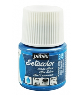 Pebeo Setacolor Suede Effect Powder Blue 309 Kumaş Boyası