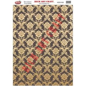 Rich Pirinç Dekopaj Kağıdı 8100