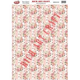 Rich Pirinç Dekopaj Kağıdı 8131