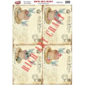 Rich Pirinç Dekopaj Kağıdı 8141
