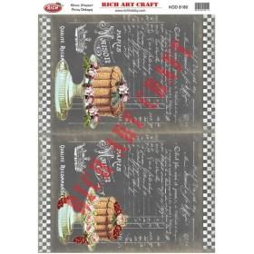 Rich Pirinç Dekopaj Kağıdı 8180