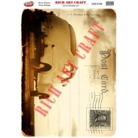 Rich Pirinç Dekopaj Kağıdı 8188